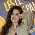 """L'actrice française Julia Faure à la soirée """"Les Nuits en Or 2013, Le Panorama"""" organisée dans les locaux de l'UNESCO à Paris, le 17 juin 2013."""
