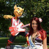Delphine Wespiser : Miss France 2012 s'éclate avec Samir et Alban des Anges
