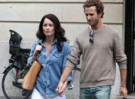 Robin Tunney de Mentalist : Romance parisienne avec son beau fiancé