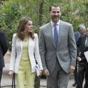 Letizia d'Espagne : Fraîche et radieuse au bras de son prince Felipe, élégant