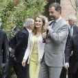 Le prince Felipe et la princesse Letizia d'Espagne à Madrid, le 18 Juin 2013.