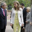 La princesse Letizia d'Espagne lors d'une cérémonie à Madrid, le 18 Juin 2013.