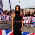 "Alesha Dixon arrive aux auditions de l'émission ""Britain's Got Talent"" à Cardiff, le 16 janvier 2013."