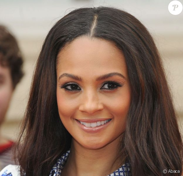 "Alesha Dixon au lancement de l'émission ""Britain's Got Talent"", le 11 avril 2013."