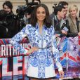 "Alesha Dixon lors du lancement de l'émission ""Britain's Got Talent"", le 11 avril 2013."