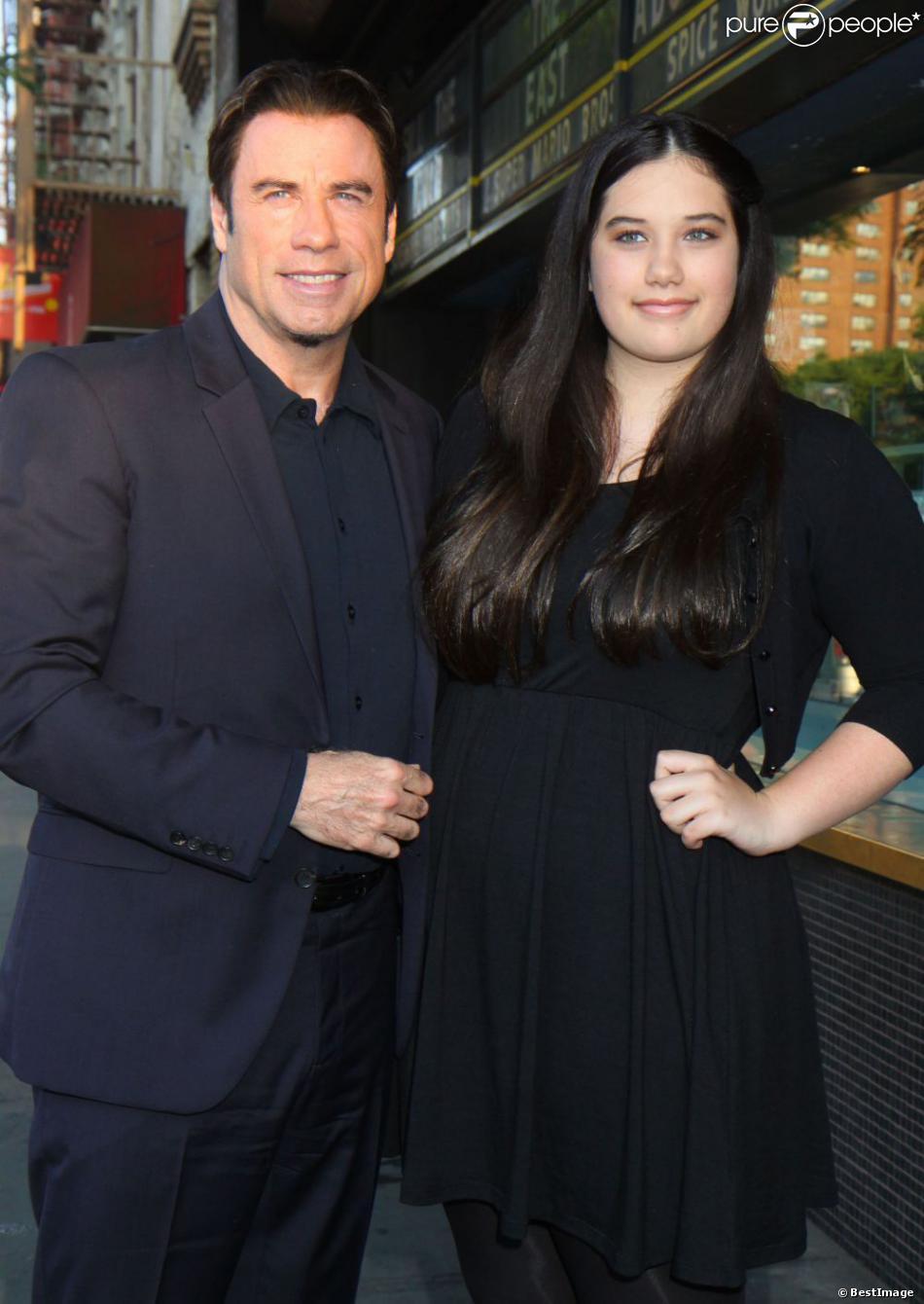 John Travolta et sa fille Ella assistent à la première de Killing Season à New York, le 20 juin 2013.