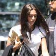 Lourdes se rend à un cours de Kabbale avec sa mère Madonna et sa petite soeur Mercy. New York, le 22 juin 2013.