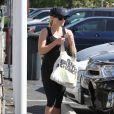 Reese Witherspoon se rend à son cours de gym à Brentwood. Le 21 juin 2013 à Los Angeles.