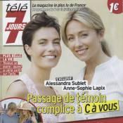 Alessandra Sublet et Anne-Sophie Lapix : Rencontre entre deux mamans 'couillues'