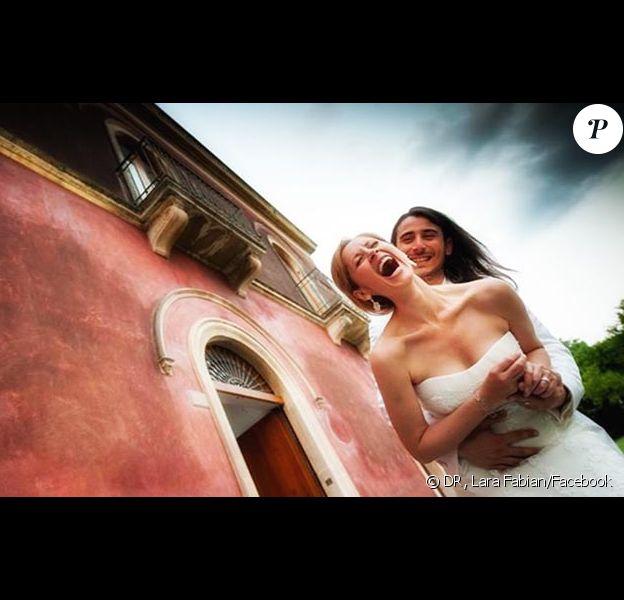 Lara Fabian nous offre la photo de son mariage !