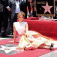 """Jennifer Lopez - People à la remise de médaille de Jennifer Lopez sur le """"Walk of Fame"""" à Hollywood, le 20 juin 2013."""