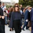 Carine Roitfeld arrive au défilé Christian Dior Couture le 1er juillet 2013 à Paris