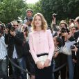 Natalia Vodianova lors du défilé Chanel Haute Couture à Paris le 2 juillet 2013