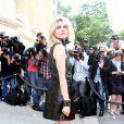 Cecile Cassel lors du défilé Chanel Haute Couture à Paris le 2 juillet 2013