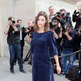 Astrid Berges-Frisbey lors du défilé Chanel Haute Couture à Paris le 2 juillet 2013