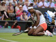 Wimbledon 2013 - Le choc : Serena Williams à terre, les larmes de Sabine Lisicki