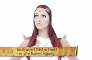 Delphine Wespiser dans Fort Boyard: 'La princesse Blanche est la touche glamour'