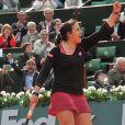 Marion Bartoli à Roland Garros, le 28 mai 2013.