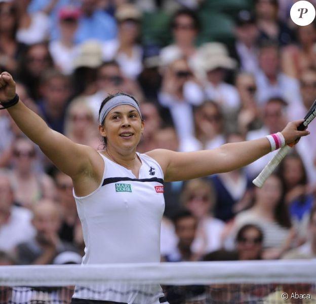 Marion Bartoli victorieuse le 4 juillet 2013 à Wimbledon