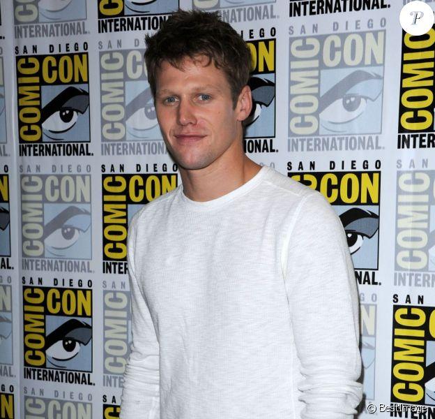 Zach Roerig à la conférence de presse de la série Vampire Diaries, à San Diego le 14 juillet 2012.