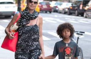 Heidi Klum : Nouveau look et balade en famille pour son retour à New York