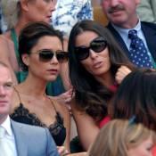 Victoria Beckham glamour avec Wayne et Coleen Rooney pour le sacre d'Andy Murray