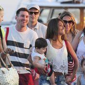 Lionel Messi et Cesc Fabregas : Réunis pour des vacances en famille à Ibiza