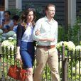 Liv Tyler sur le tournage de 'The Leftovers' à New York, le 8 juillet 2013.