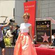 """Jennifer Lopez a obtenu son étoile sur le Hollywood """"Walk of Fame"""", le 20 juin 2013."""