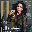 Jennifer Lopez en couverture du magazine W pour le mois d'août 2013.
