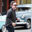 Tim Burton sur le tournage de Big Eyes à New Westminster, Canada, le 11 juillet 2013.