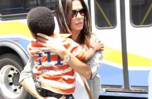 Sandra Bullock, maman solo : ''Ma lingerie sexy est enfermée dans un tiroir''