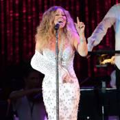 Mariah Carey : Divine diva, elle transforme son attelle en accessoire de mode
