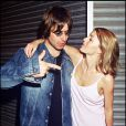 Liam Gallagher et son ex-épouse, Patsy Kensit, à Londres, le 22 mai 1998.