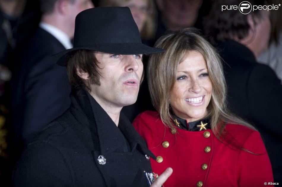 Liam Gallagher et Nicole Appleton à Londres le 18 octobre 2012.