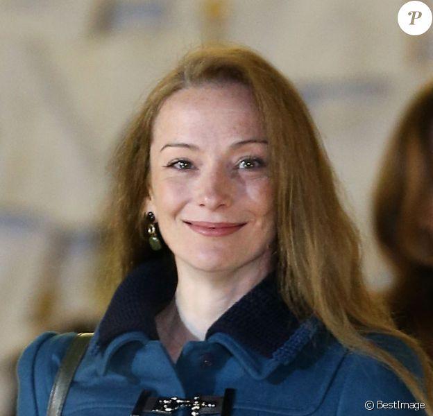 Florence Cassez au Palais de l'Elysée à Paris le 25 janvier 2013