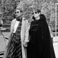 Barbara et l'épouse de Jacques Brel à Paris en 1978.