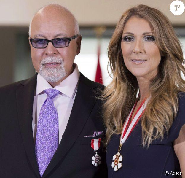 Céline Dion et René Angelil récompensés lors d'une cérémonie à la Citadelle de Québec, le vendredi 26 juillet 2013