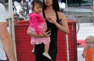 Roselyn Sanchez : Maman émerveillée devant son adorable fillette Sebella