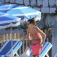 Ryan Giggs profite de ses vacances avec son épouse Stacy Cooke dans le Sud de la France, le 30 juillet 2013
