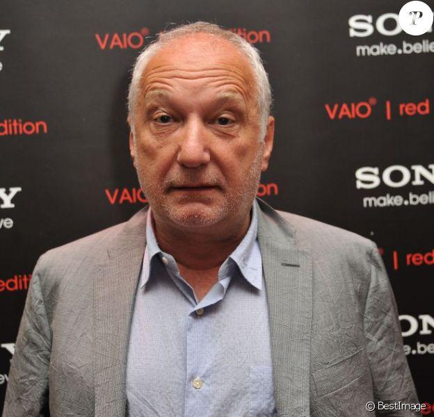 François Berléand, papi à 61 ans, ici à Paris le 2 juillet 2013.