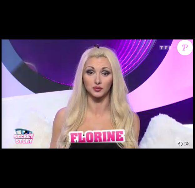 Florine dans Secret Story 7, quotidienne du dimanche 4 août 2013 sur TF1.