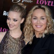 Amanda Seyfried et Sharon Stone : Glamour, entre complicité et sensualité