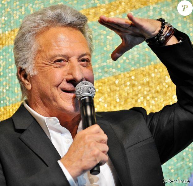 Dustin Hoffman à Tokyo au Japon le 8 avril 2013.