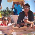 Les vacances de rêve de Kate Moss à Ibiza avec sa fille et Jamie Hince le 08/08/2013