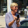 EllenDeGeneres à la sortie d'un magasin à West Hollywood, le 10 août 2013.