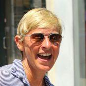 Ellen DeGeneres : Shopping sans sa femme et sans maquillage