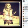 Nadine Coyle des Girls Aloud a annoncé sans fioritures sa grossesse sur Instagram le 15 août 2013.