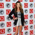 Nadine Coyle des Girls Aloud aux Q Awards le 25 octobre 2010