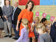 Princesse Marie : Bronzée et éclatante, elle fait sa rentrée avec la ministre